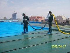 聚脲屋顶防水保温